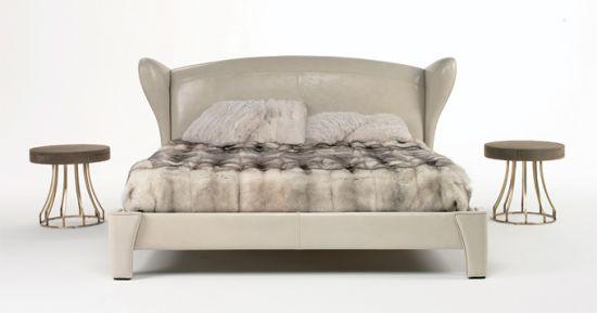 贵皮草床品已经进入到了高端家居空间的装饰元素范畴
