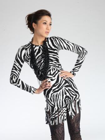 美国潮酷服装品牌CHICLOE斑马纹服装