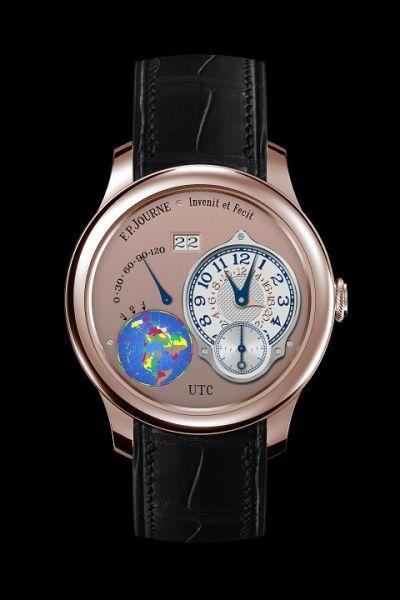 UTC世界标准时间腕表