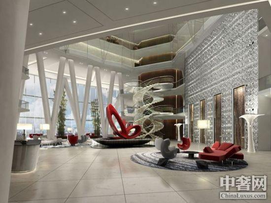 所以的一切让广州四季酒店尽显前卫设计