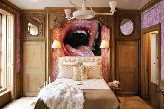 卧室立面手绘图cad