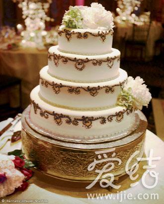 很精致的婚礼蛋糕