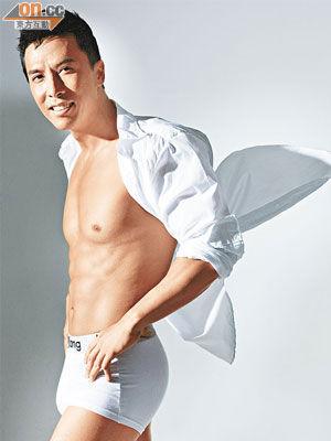 男模内裤透明广告花絮 拍摄男模 男模内裤透明广告花絮图
