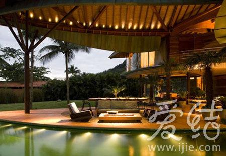 酒店内装潢也以自然感觉为主-在里约Casa Folha 享受极致蜜月