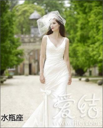水瓶座适合保守的婚纱款式-你选对了吗 十二星座婚纱物语 4