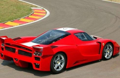 法拉利599XX背部