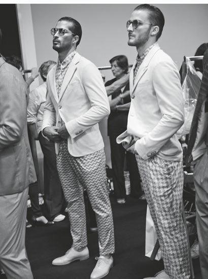 1970 年代后期,阿玛尼的全系列服装已经征服了纽约的各大商场