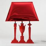 范思哲红色台灯