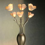 花朵形状金属吊灯