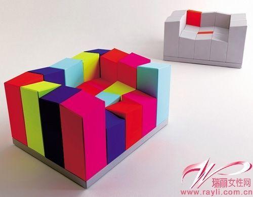 木码设计 沙发