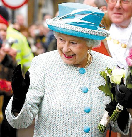 英国女王伊丽莎白二世 庆祝登基60周年