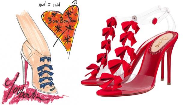 """""""红底鞋""""手绘图也疯狂"""