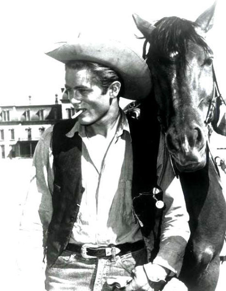 詹姆斯-迪恩在电影《无端的反抗》中的造型