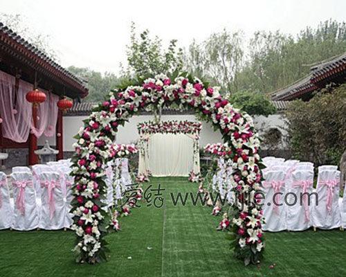 婚礼现场布置效果图农村_2018农村庭院婚庆布置效果图