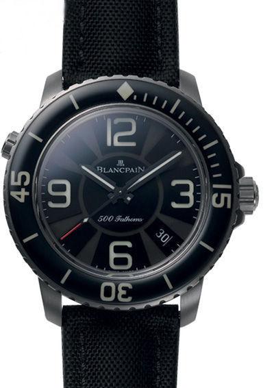 宝珀500�x限量版潜水腕表
