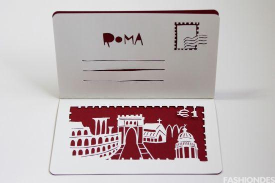 此系列包含两款礼卡——   邮寄笔记本:将信封和礼卡合二为——呈