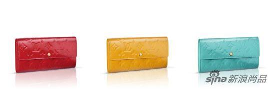 路易威登新品包袋:亮色钱包