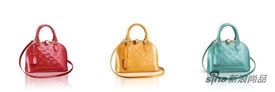 路易威登新品包袋:亮色两用手袋