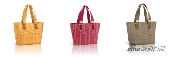 路易威登新品包袋:亮色款帆布手袋