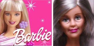 芭比娃娃也会变老