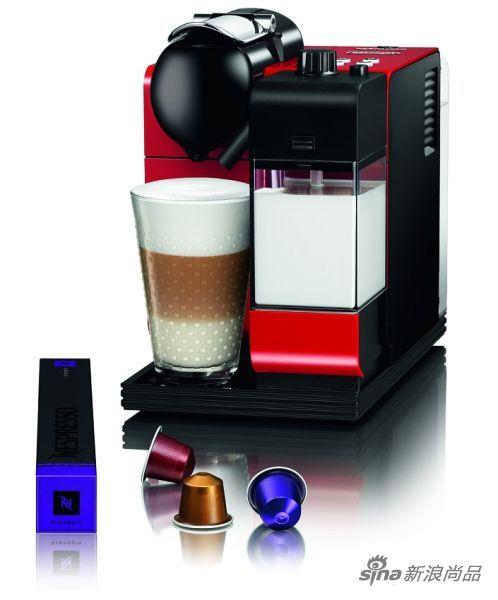 Nespresso奈斯派索推出具备革命性功能的花式咖啡机 �C Lattissima+