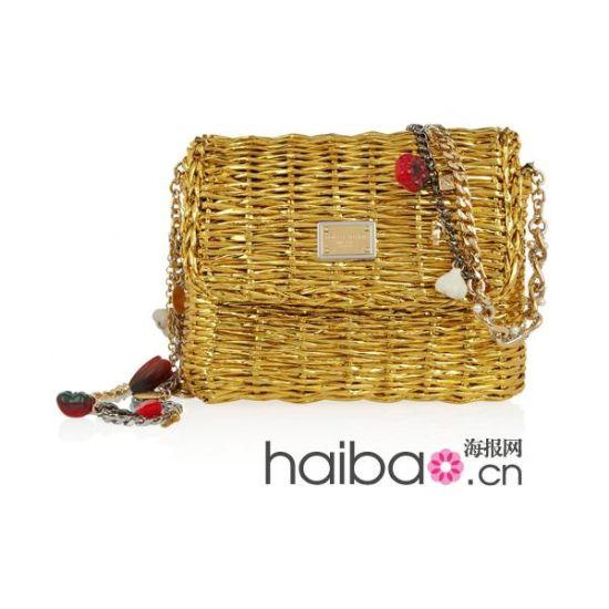 2012初夏精美手工编织包新品:杜嘉班纳 (Dolce&Gabbana) 价格:1183 英镑