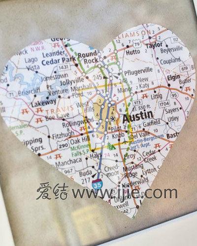 地图相框纪念册
