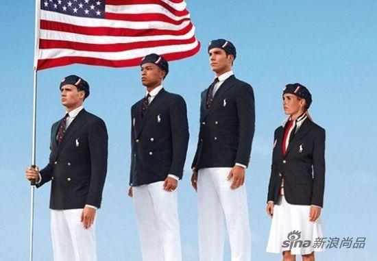"Ralph Lauren设计的美国队队服被笑""娘娘腔"""