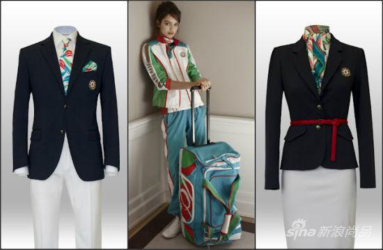 意大利品牌Ermanno Scervino为阿塞拜疆队提供服装