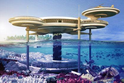 马尔代夫水下酒店