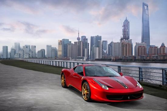 Ferrari 458 Italia中国限量版跑车
