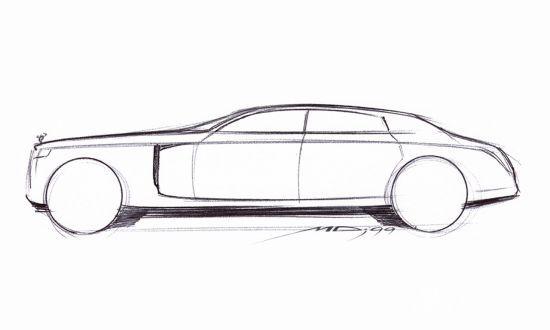 普通汽车概念设计手绘