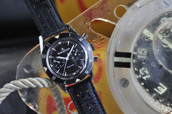 积家Deep Sea系列复古计时腕表