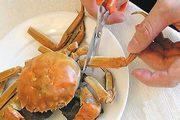 剪掉大闸蟹的八只脚
