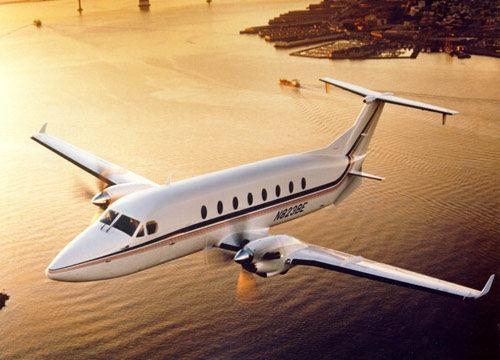 豪客比奇私人飞机(新浪配图)