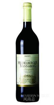 海德堡晚熟黑比诺干红葡萄酒