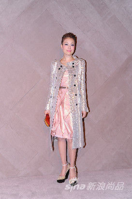Joey Yung at the Burberry event in Pacific Place Hong Kong