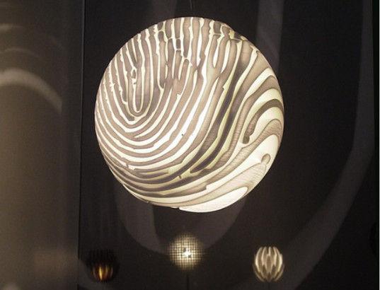 立体螺旋灯罩