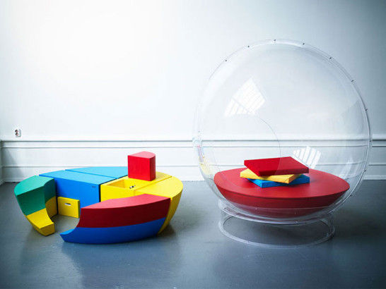 """这种""""泡泡""""房能使人在不必与外界彻底隔绝的情况下,享受私人空间。"""