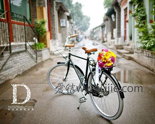 爱情骑自行车卡通图片