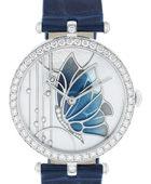 梵克雅宝Lady Arpels Papillon Bleu Nuit 腕表