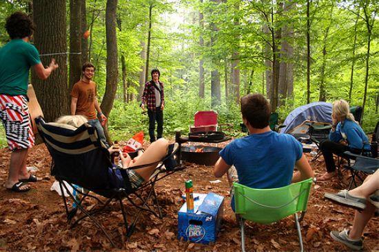 露营是夏日最佳休闲活动