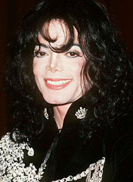 1997年38岁的迈克尔 杰克逊