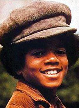 1971年13岁的迈克尔 杰克逊