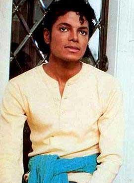 1983年25岁的迈克尔 杰克逊