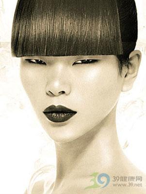 模特:吕燕