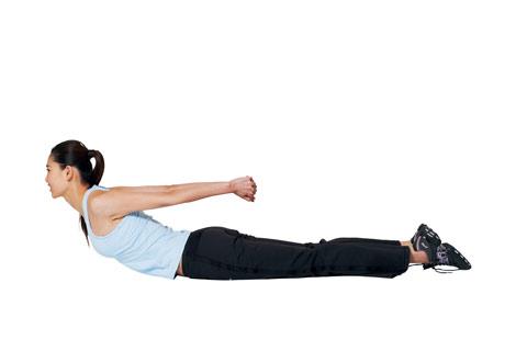 伸展瑜伽:蛇式