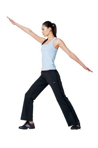 战士式瑜伽Step1