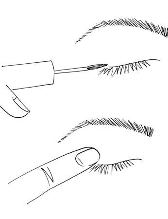 画Q眼镜的步骤图