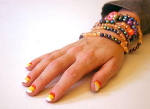 教你DIY玉米糖美甲色彩鲜艳 给你带来阳光洒满的一天